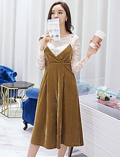 DABUWAWA Women's Going out Casual/Daily Holiday Simple Vintage Active Solid Strap JumpsuitsWide Leg Sleeveless Spring Fall Polyster
