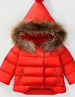 hesapli Bebek Dış Giyimi-Bebek Solid Pamuklu Kış Şişme ve Pamuk Pedli-