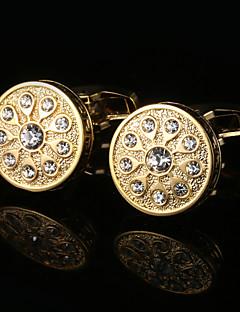 Χαμηλού Κόστους Σμόκιν και κοστούμια-Geometric Shape Χρυσαφί Butoni Δώρο Κουτιά & Τσάντες / Μοντέρνα Ανδρικά Κοστούμια Κοσμήματα Για