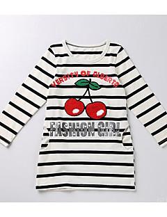Mädchen T-Shirt Streifen Baumwolle Herbst Winter Lange Ärmel