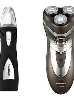 flyco fs355 rasoir électrique rasoir 220v lavable dispositif de nez de charge rapide