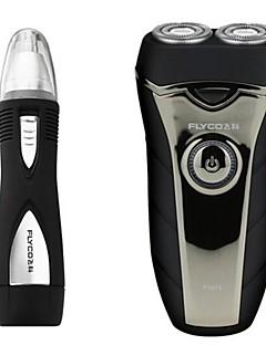 billige Barbermaskiner & Barberhøvler-flyco fs876 barberneseanordning 220v vaskbart hode