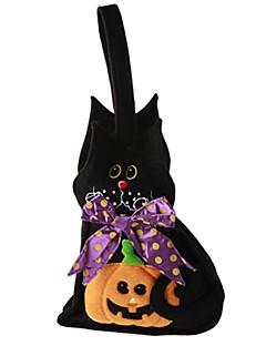 Dyremønster Spøkelse Monstere Gresskar Bagger og vesker Halloween Festival/høytid Halloween-kostymer Svart Mote