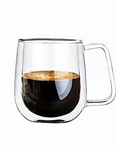 Χαμηλού Κόστους Ποτήρια Κρασιού-Γυαλί Κούπα Κρασοπότηρο διπλού τοιχώματος Θερμομονωτικά 1 Καφέ Γάλα drinkware