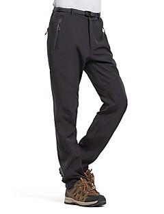 tanie Turystyczne spodnie i szorty-Męskie Turistické kalhoty Na wolnym powietrzu Wiatroodporna Rain-Proof Wodoodporny zamek Oddychalność Zima Softshell Spodnie Doły Piesze