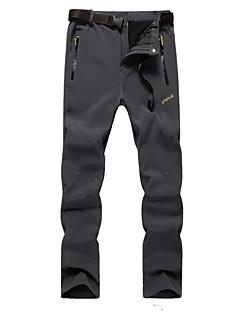 baratos Calças e Shorts para Trilhas-Homens Calças de Trilha Ao ar livre A Prova de Vento, Design Anatômico, Vestível Outono / Inverno Calças Caça / Esqui / Equitação