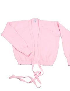 バレエ トップス 女性用 子供用 訓練 1個 長袖 コート