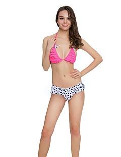 Dame Bikini Blomstret Grime Trykt mønster