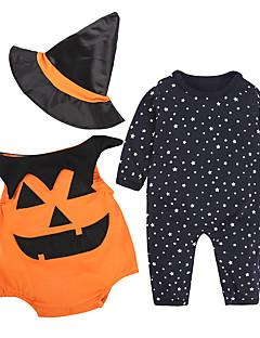 Baby Kinderen Halloween Festival Print Kledingset,Cartoon Alle seizoenen