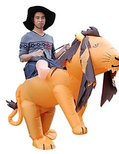 billige Halloweenkostymer-Løve Voksne Jul Halloween Karneval Festival / høytid Halloween-kostymer Dyremønster