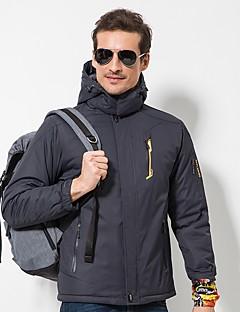 tanie Odzież turystyczna-LEIBINDI Męskie Dlouhá turistická bunda Na wolnym powietrzu Zima Wiatroodporna Zdatny do noszenia Rozciągliwe zima Polary Topy Pojedyncze