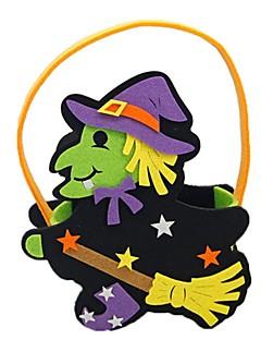 billige Halloweenkostymer-Trollmann/heks Bagger og vesker Halloween Festival / høytid Halloween-kostymer Lilla Mote