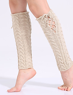 여자의 새로운 패션 따뜻한 스타킹, 아크릴 양모 스타킹 가을 / 겨울
