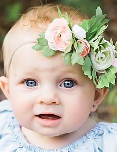 billige Tilbehør-Børne Pige Blomstret Hår Tilbehør