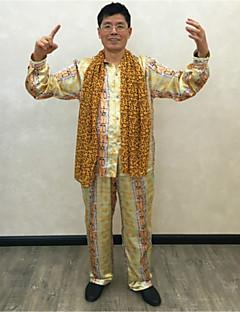 Prinsesse Superstjerne Flere Kostymer Cosplay Kostumer Halloween Festival / høytid Halloween-kostymer Gul Mote