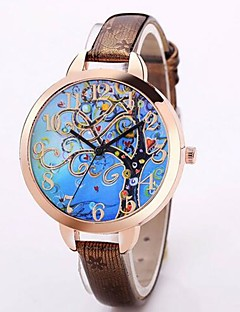 Women's Kid's Fashion Watch Unique Creative Watch Casual Watch Chinese Quartz Chronograph Water Resistant / Water Proof Leather Band