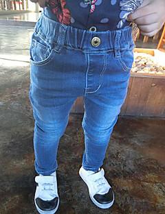 billige Jeans til drenge-Baby Drenge Ensfarvet Jeans