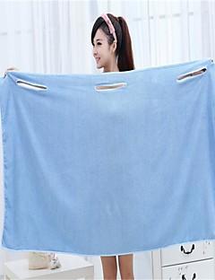 Frisse stijl Badhanddoek,Effen Superieure kwaliteit 100% Microvezels Simpel Geweven Handdoek