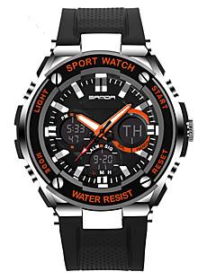 billige Digitalure-Herre Dame Digital Digital Watch Armbåndsur Smartur Militærur Sportsur Kinesisk Alarm Kalender Kronograf Glide Regel Vandafvisende Stor