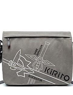 billige Anime Cosplay Tilbehør-Veske Inspirert av Sword Art Online Kirito Anime Cosplay-tilbehør Lerret