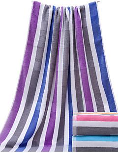 Frischer Stil Badehandtuch,Gestreift Gehobene Qualität 100% Baumwolle Handtuch