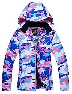 Jaqueta de Esqui Mulheres Esqui Esportes de Inverno Térmico/Quente A Prova de Vento Esqui Jaqueta de Inverno