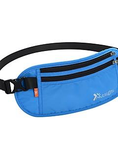 billiga Ryggsäckar och väskor-2 L Magväskor - Torkar snabbt Utomhus Camping, Löpning Duk, Nylon Svart, Purpur, Blå