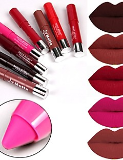 cheap Makeup For Lips-Lipstick Matte Mineral N/A Waterproof Solid Cosmetic Beauty Care Makeup for Face