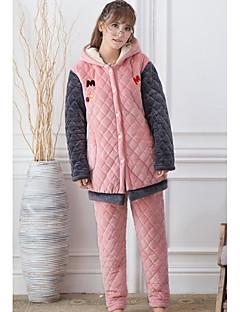 Feminino Pijama Poliéster Feminino