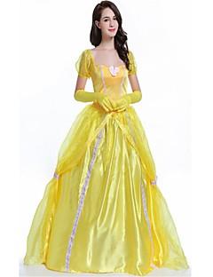Prinsesse Dronning Gudinne Badedrakt/Kjoler Party-kostyme Maskerade Kvinnelig Halloween Jul Karneval Nytt År Oktoberfest Festival/høytid