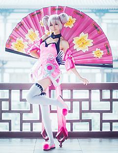 """Inspirert av Cosplay Cosplay Anime  """"Cosplay-kostymer"""" Cosplay Klær Andre Kjole Erme Sokker Til Kvinnelig"""