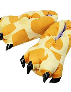 Kigurumi Pyjamas Sjiraff Kostume Gul Bomull Tøfler Trikot / Heldraktskostymer Cosplay Festival / høytid Pysjamas med dyremotiv Halloween