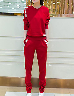 Women's Sports Casual Summer T-shirt Pant Suits