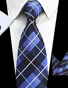 Herre Stripet Slips,Alle årstider Stripet Polyester