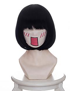 billige Anime cosplay-Cosplay Parykker Hoozuki ingen Reitetsu Zashiki-warashi 1 Anime Cosplay-parykker 35 CM Varmeresistent Fiber Dame