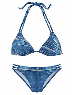 Dame Bikini Solid