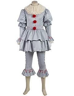 tanie Kostiumy filmowe i telewizyjne-Cosplay Kostiumy Cosplay Rękawice Bal maskowy Stroje Kostiumy z filmów Gray Top Spodnie Pas Halloween Wełna Jazz