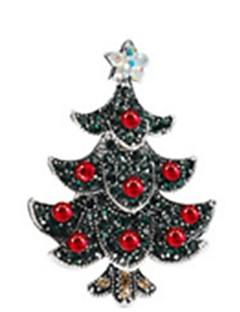 bijuterii de vacanță închis verde crom cosplay accesorii Crăciun