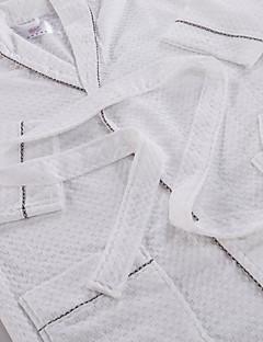 Frisk stil Badekåpe,Solid Overlegen kvalitet 100% Bomull Håndkle