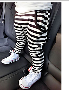 Boys' Striped Pants-Cotton Spring Fall