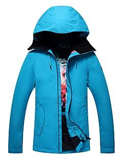 GSOU SNOW 女性用 スキージャケット ウォーム 通気性 防水 防風 防雨 YKKジッパー スノーウォーキング スキー フリースタイルスノーボード 環境に優しい ポリエステル