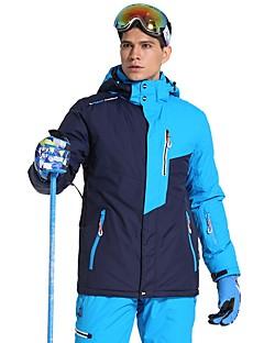 abordables Ski & Snowboard-Phibee Homme Veste de Ski Pare-vent, Etanche, Chaud Ski Polyester Haut Chaud Tenue de Ski