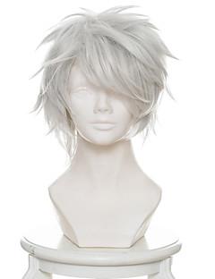 billige Anime cosplay-Cosplay Parykker 12 kriger / juni Taisen Usagi / Kanin Anime Cosplay-parykker 33 CM Varmeresistent Fiber Herre