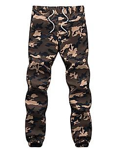 billige Herre Mode Beklædning-Herre Afslappet Skinny Bukser camouflage