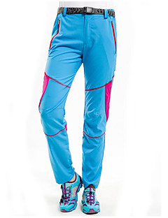 tanie Turystyczne spodnie i szorty-Damskie Spodnie turystyczne Odporność na wiatr, Wodoodporny, Szybkie wysychanie Narciarstwo / Sporty zimowe 100% poliester Spodnie Odzież narciarska / Odporność na promieniowanie UV
