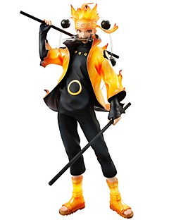 billige Anime cosplay-anime action figurer inspirert av naruto naruto uzumaki pvc cm modell leketøy dukke leketøy