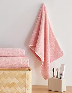 Frischer Stil Badehandtuch Set,Solide Gehobene Qualität Reine Baumwolle 100% Glatte Baumwolle Handtuch