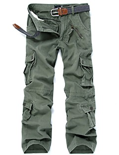 cheap Hiking Trousers & Shorts-Men's Hiking Cargo Pants Outdoor Windproof Wearable Winter Pants / Trousers Multisport