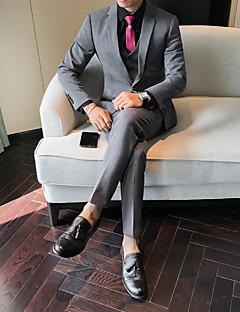 billige Herremote og klær-drakter-Ensfarget Bedriftsformell Herre
