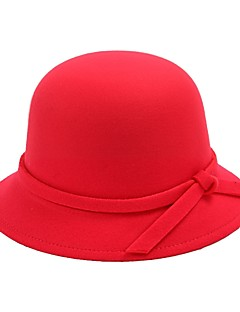 cheap Halloween & Carnival Costumes-Holiday Hats Coffee Red Blue Fuchsia Ink Blue Padded Fabric Cosplay Accessories Masquerade